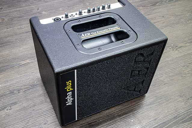 AER The Acoustic People Alpha-Plus 50W Single Channel Acoustic 1x8 Combo Amp