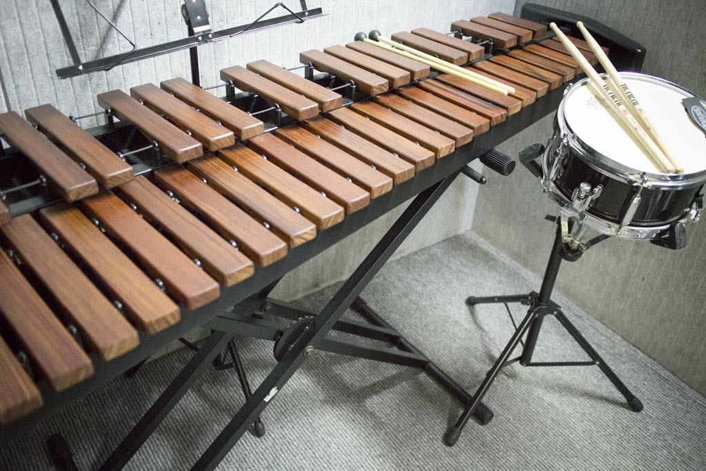 Xylophone and Snare Drum