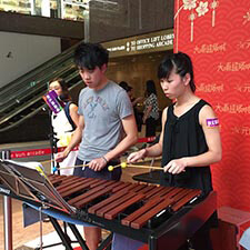 Felix Kimmy Xylophone Music Performance