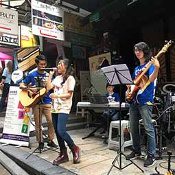 Hong Kong Dog Rescue Peak to Fong 2016 Music Performance