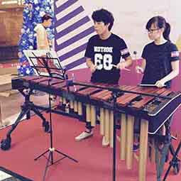 Marimba @ Sun Arcade Music Performance