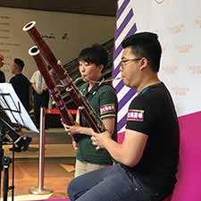 Bassoon Duet @ Sun Arcade Music Performance
