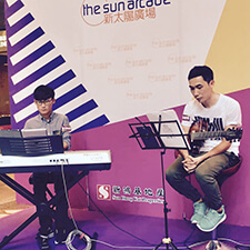 Keyboard Guitar @ Sun Arcade Music Performance