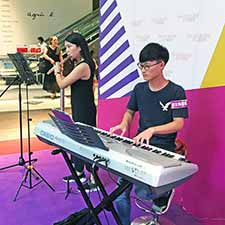 Flute Keyboard @ Sun Arcade Music Performance